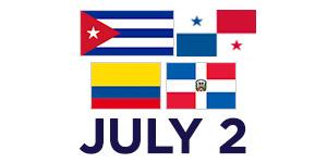 Julio 2, Logo