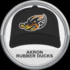 Akron RubberDucks cap logo