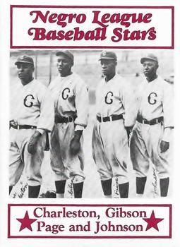 Oscar Charleston Josh Gibson Ted Page Judy Johnson - Homestead Grays