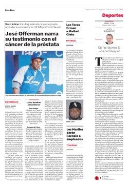 Portada, Listin Diario, Mayo 14, 2020