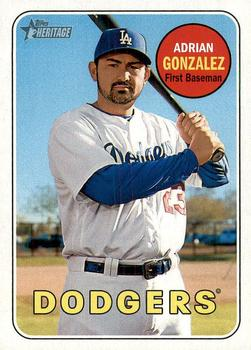 Adrian Gonzalez SP - Los Angeles Dodgers